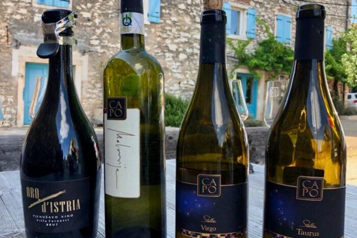 Wijnproeverij Istrie Kroatie